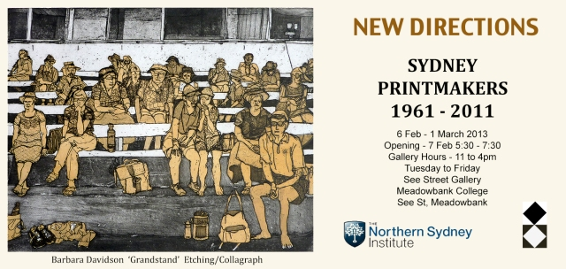 Sydney Printmakers Exhibition at See St Gallery