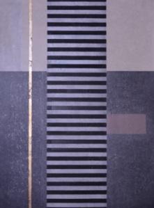 Roslyn Kean: Echo II, Woodblock, Image 34cm x 34cm
