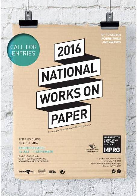 National works on paper